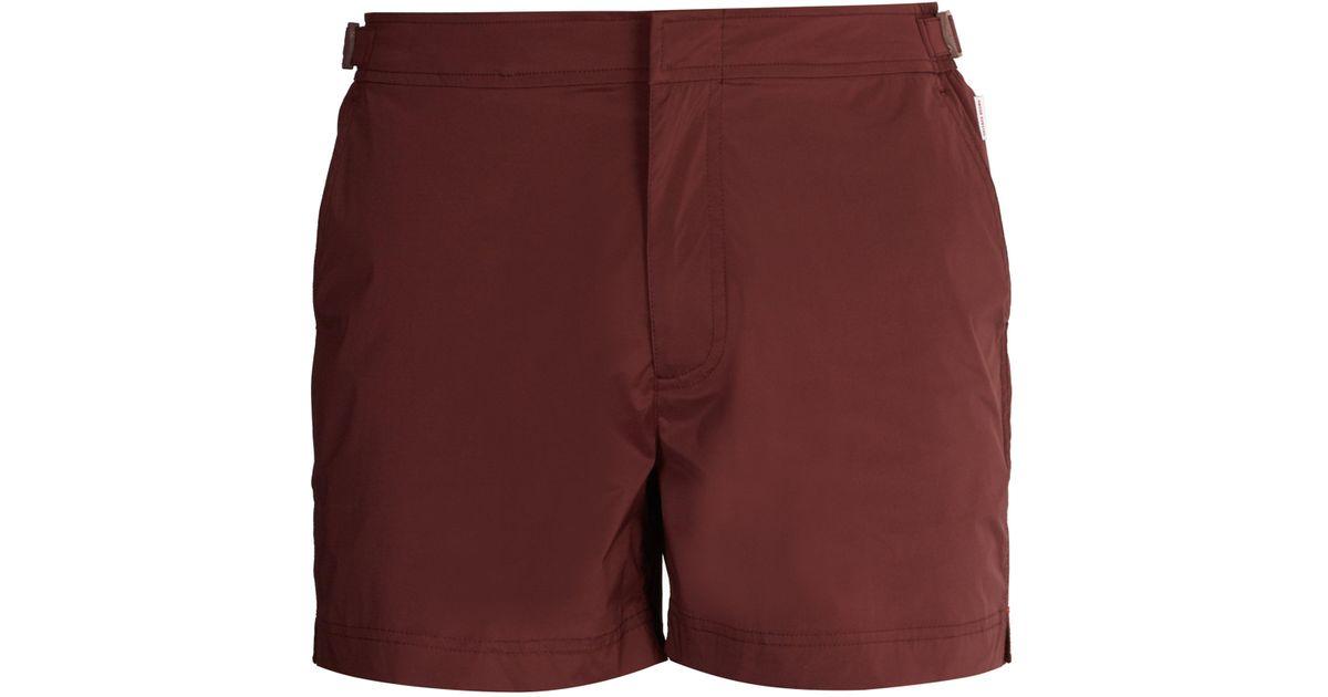 25df290cd5 Orlebar Brown Setter Swim Shorts in Purple for Men - Lyst
