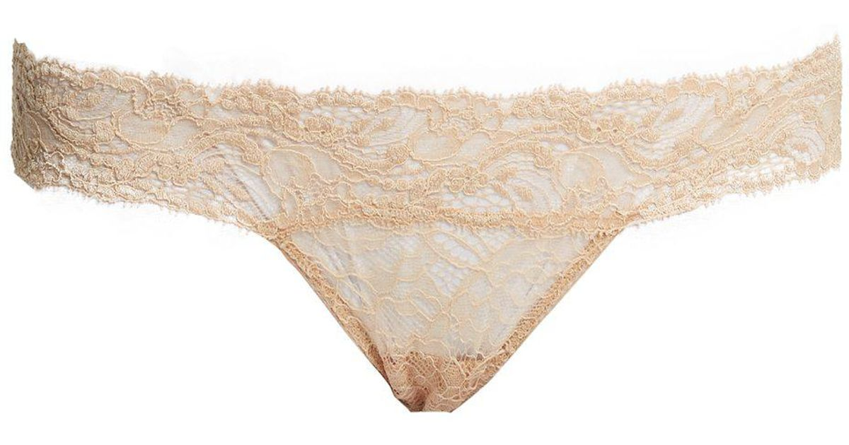 Myla Pearl G-string in Nude (Natural) - Lyst