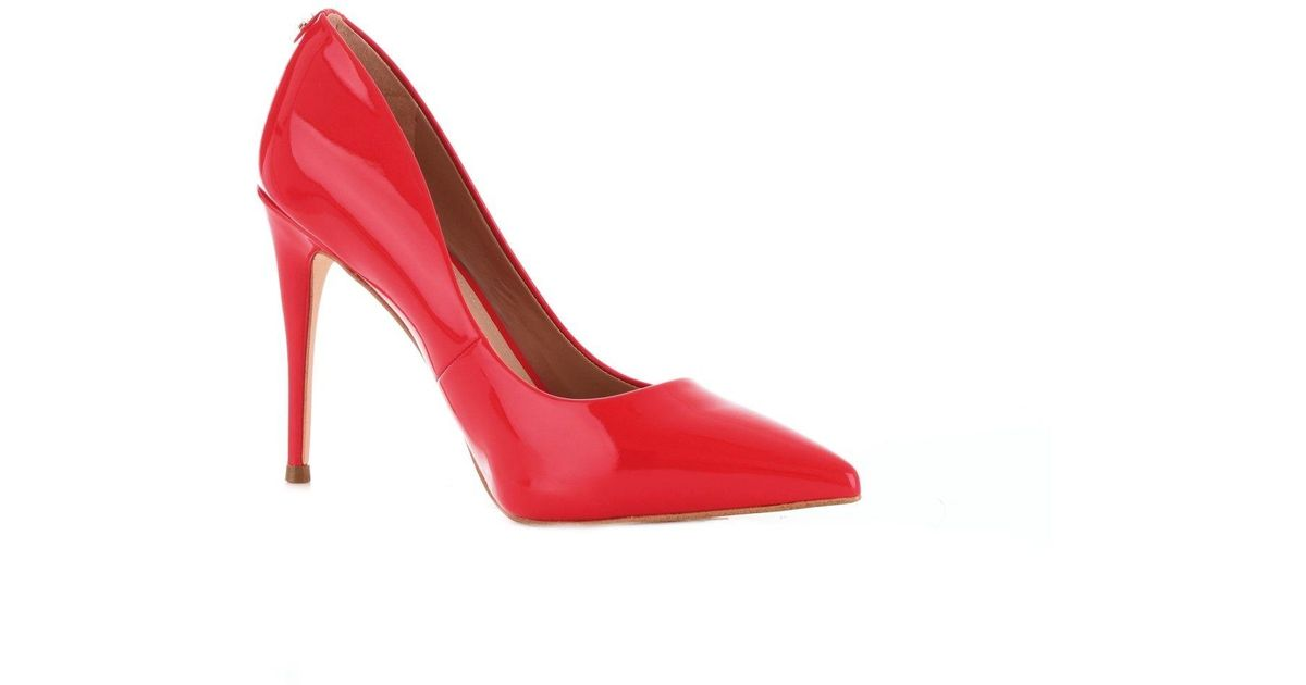 f82fa0d227c Guess Red Patent Leather Pumps