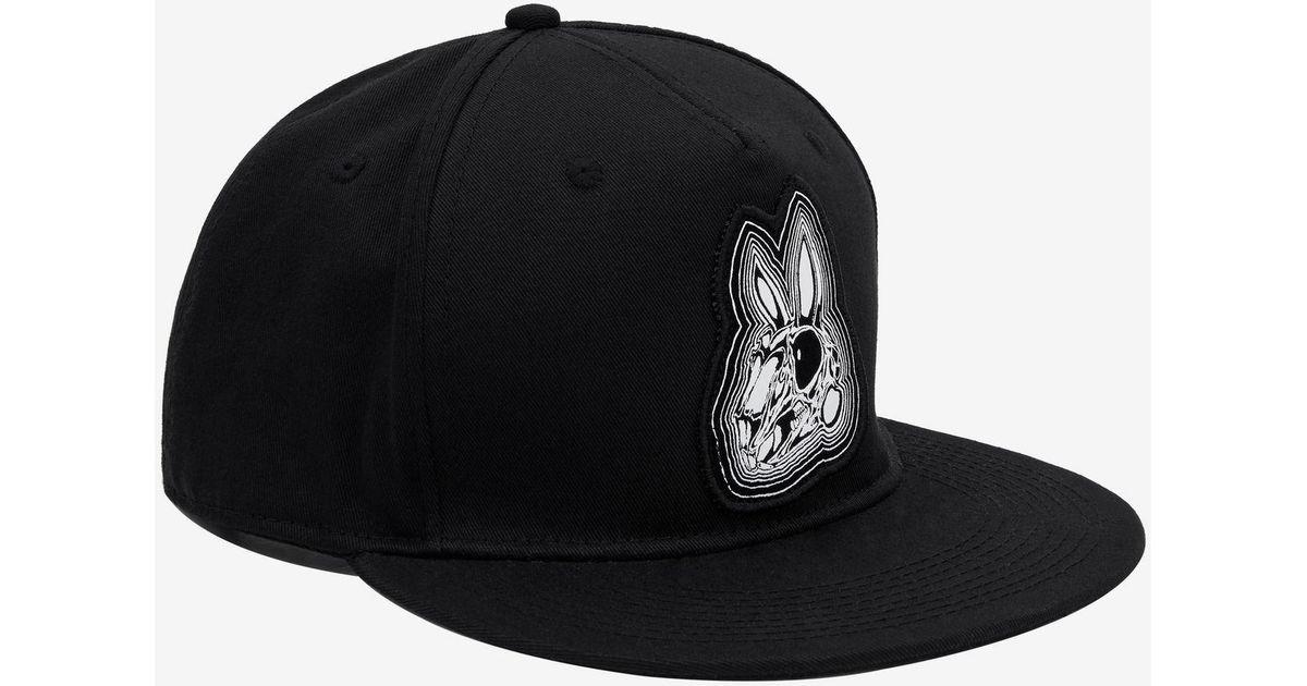Lyst - McQ Mcq Bunny Baseball Cap in Black for Men 5121463e3bb5
