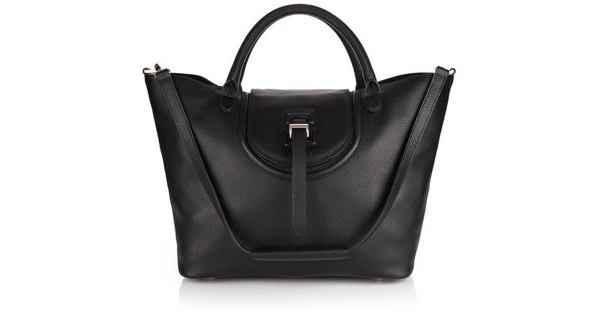 48e620f6290 Meli Melo - Halo Tote Bag Black - Lyst