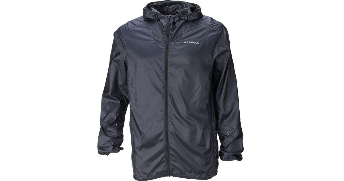 f5e787dbb4 Merrell Black Torrent Windbreaker Jacket for men