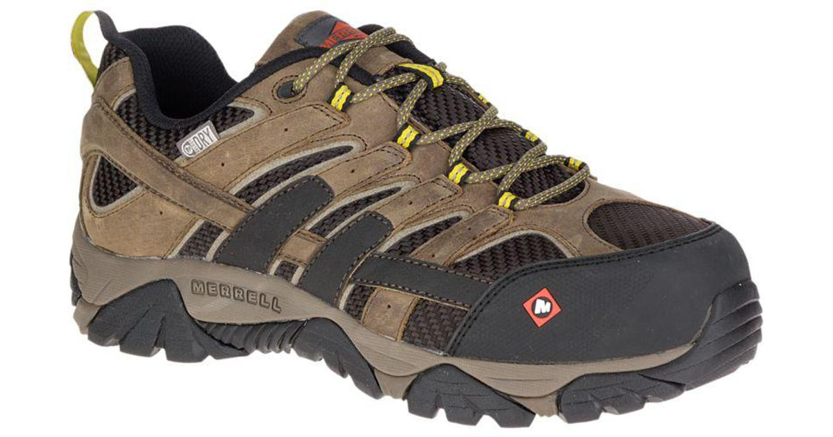 Merrell Leather Moab 2 Vent Waterproof