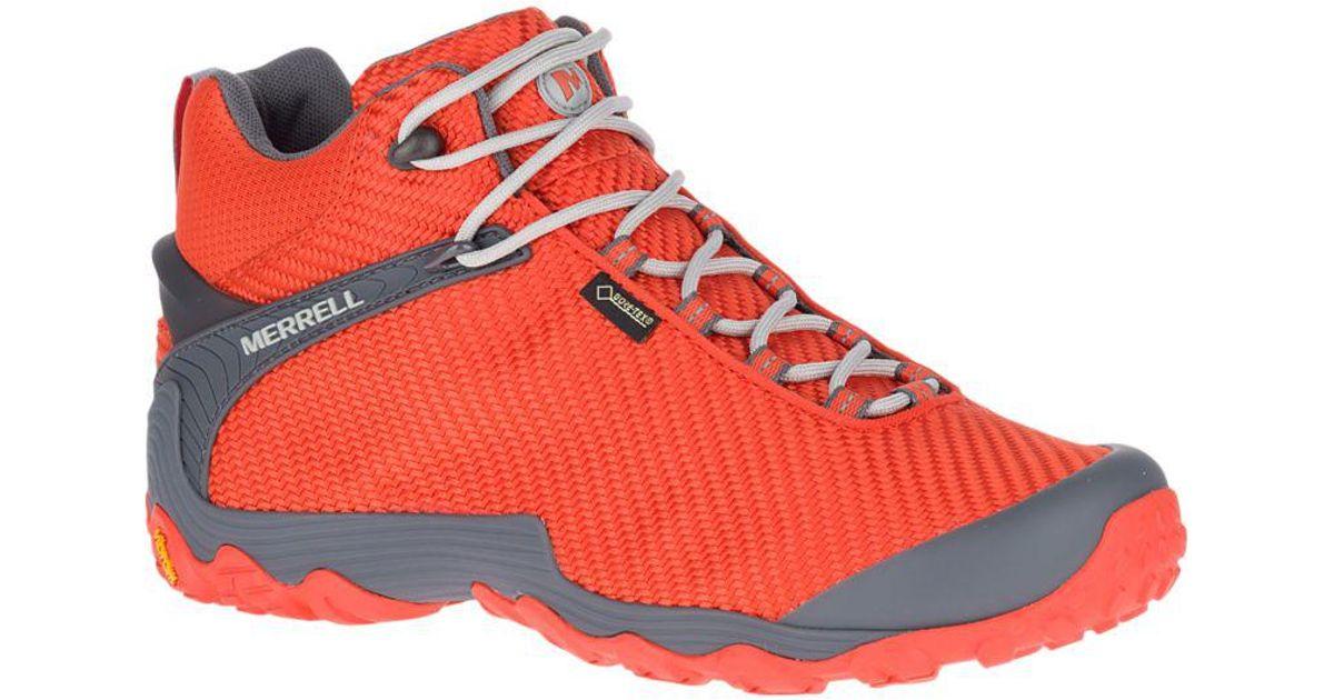 uk store complete range of articles where can i buy Merrell Orange Chameleon 7 Storm Mid Gore-tex® for men