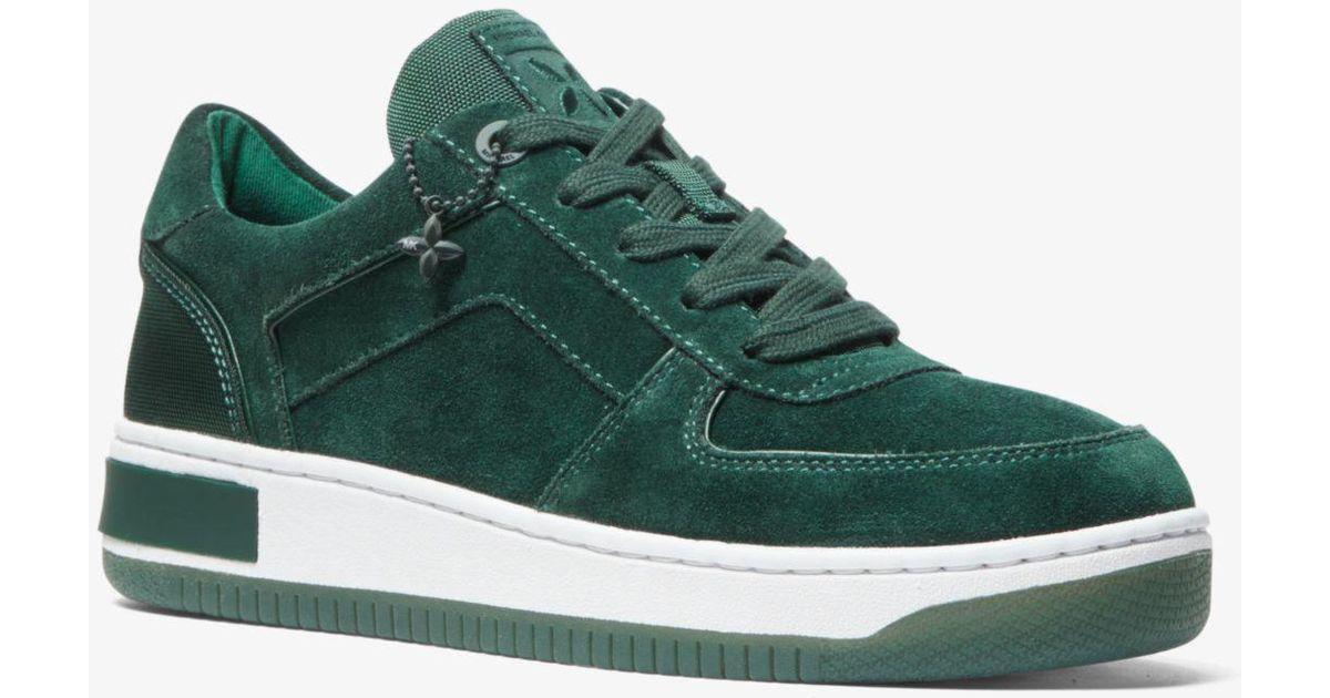 Michael Kors Jaden Suede Sneaker in