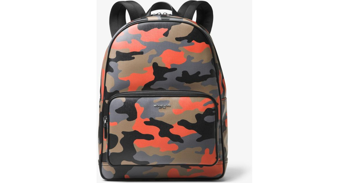 a36e35ba7933 Michael Kors Bryant Camouflage Backpack for Men - Lyst