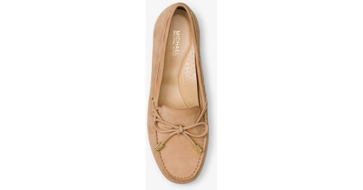 Michael Kors Sutton Leather Moccasin - Lyst