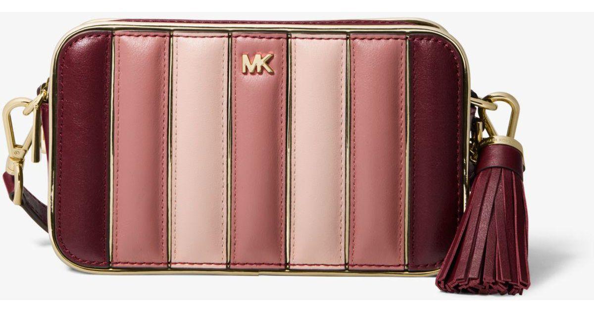 071e8ca5ec9fd3 MICHAEL Michael Kors Small Camera Bag (oxblood Multi) Wallet - Save 37% -  Lyst