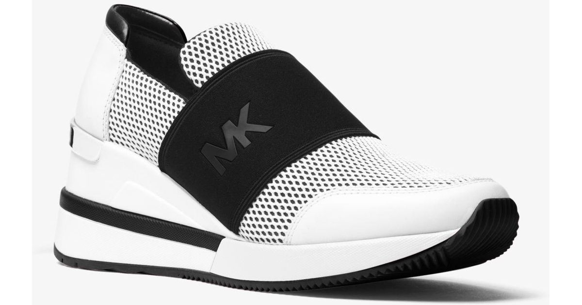 Michael Kors Leather Felix Trainer