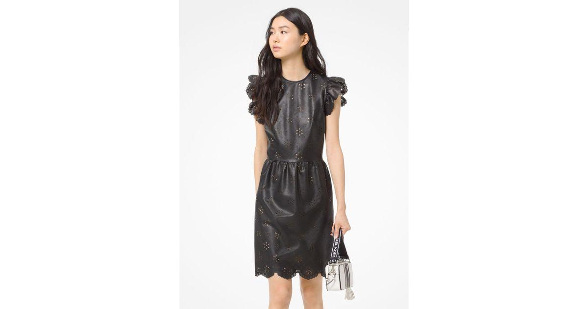 MK leather dress