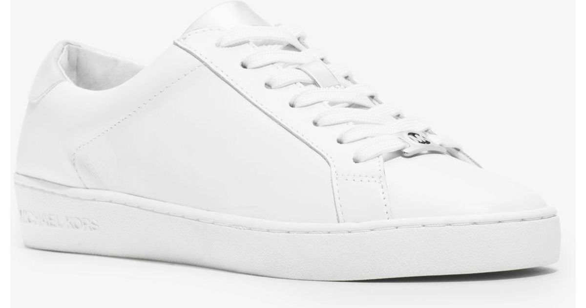 irving leather sneaker