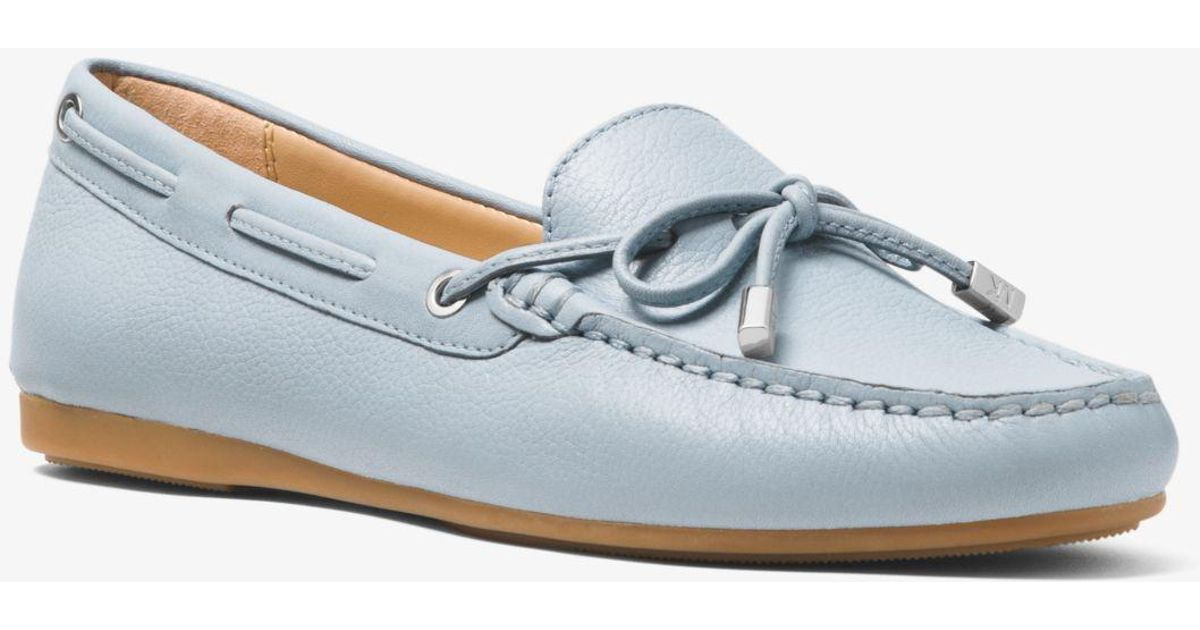 Michael Kors Sutton Leather Moccasin in