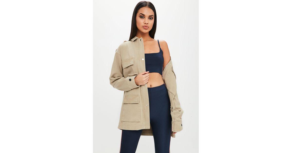 Others follow birch twill womens jacket