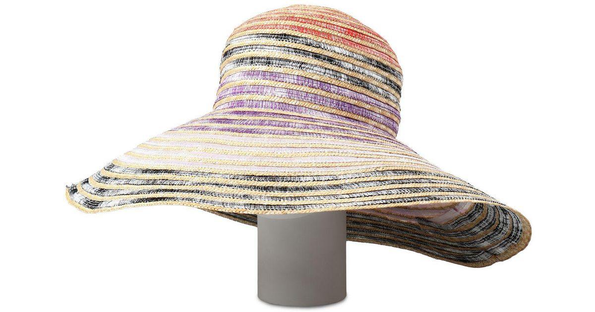 Lyst - Missoni Beach Hat in Natural 30d1c66f34e