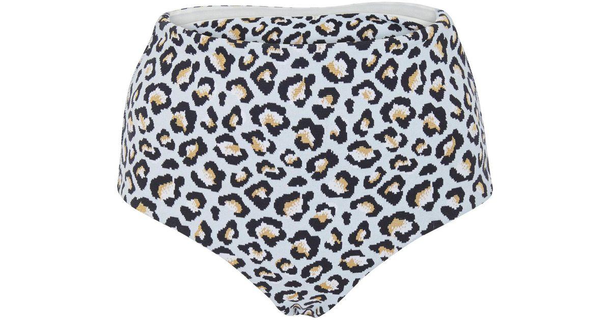 f5b7429330 Lyst - Paper London Fiji Animal Bikini Bottom