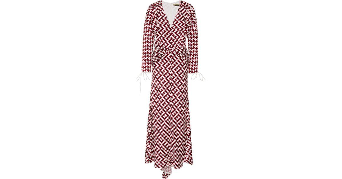 October Herringbone Midi Dress Hellessy rOOsCK