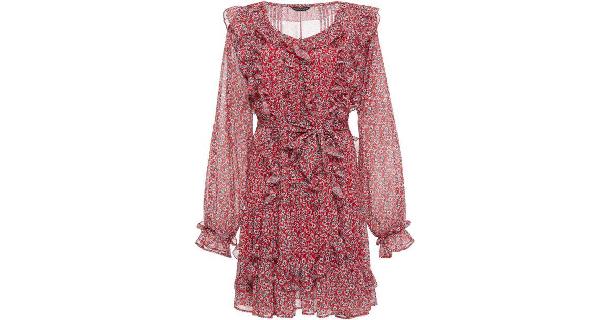 Everett Print Mini Dress Marissa Webb shD9USqK