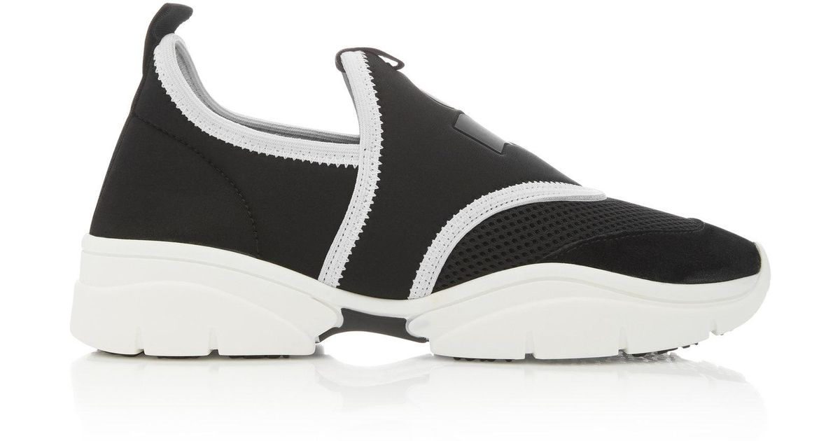 Isabel Marant Kaisee Stretch-Knit Sneakers sqc2u