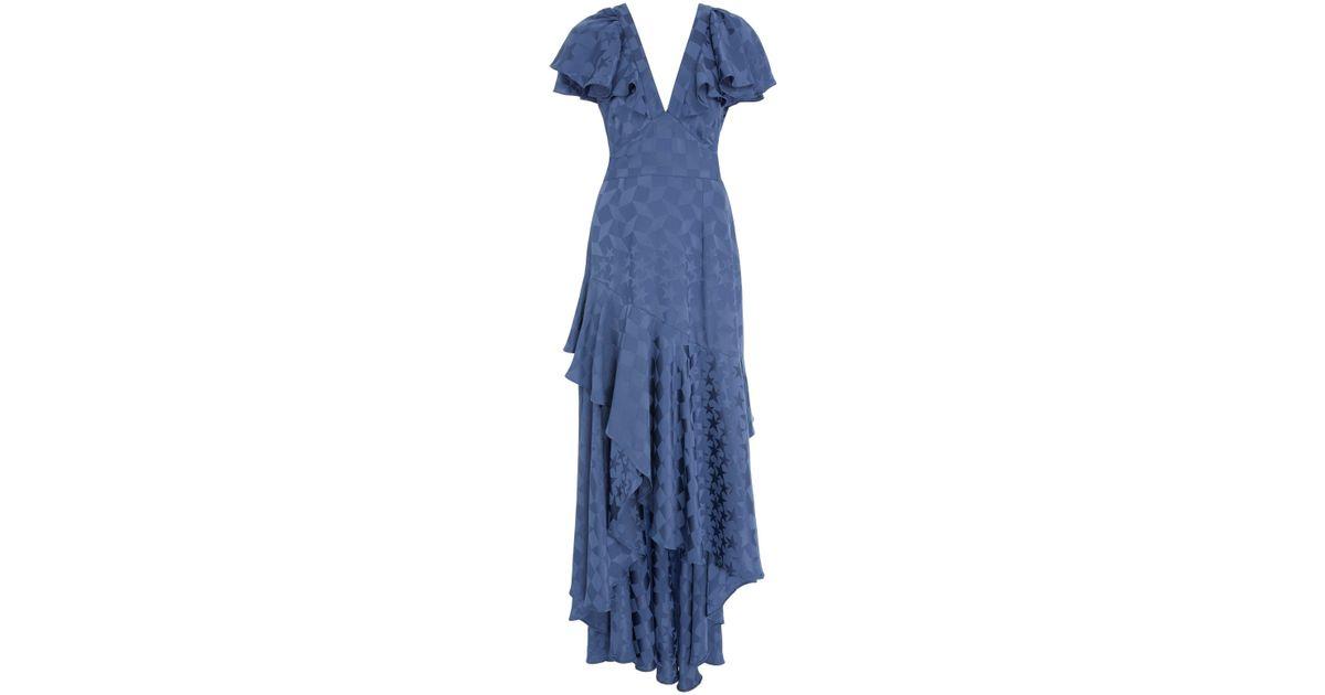 Cyndie Ruffle Sleeve Dress Temperley London WcBaSL57J