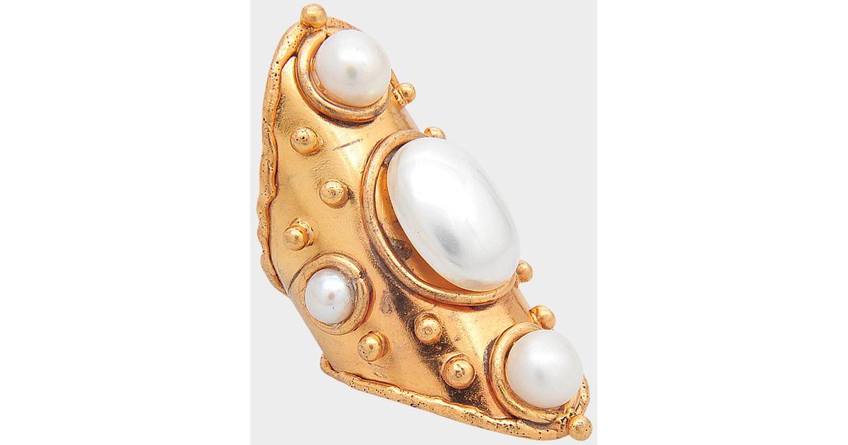 Sylvia Toledano Byzance Pearls ring 7wKKywGdDY