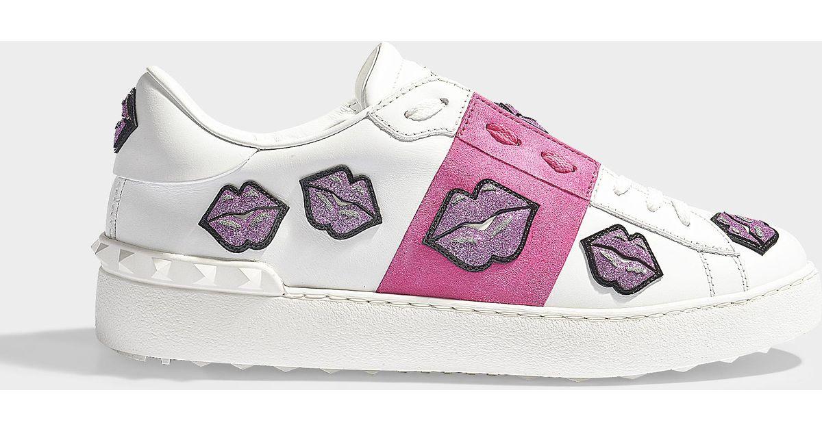 Valentino Open lips sneakers sale get to buy pKT8IoeX