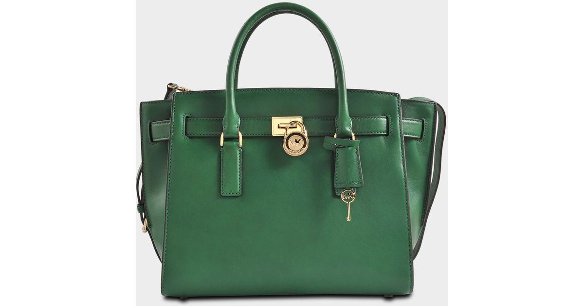 Green Traveler 18k Hamilton Michael Kors Tasche Lg rxtQhCsd