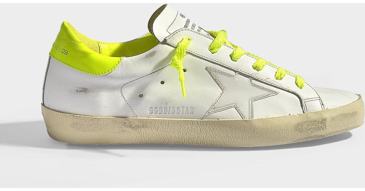 Deluxe Superstar Lyst Fluro Brand In Goose Golden Sneakers White XnxBf