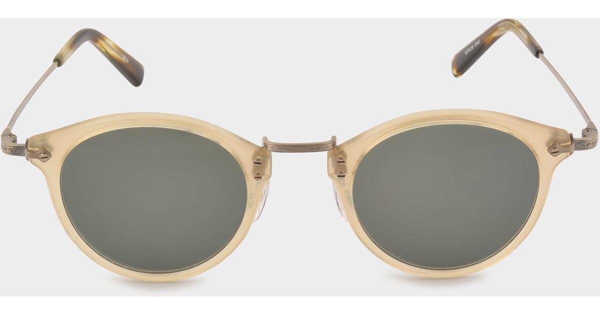 65b4e39cb1 Masunaga Gms-805 Sunglasses in Black - Lyst