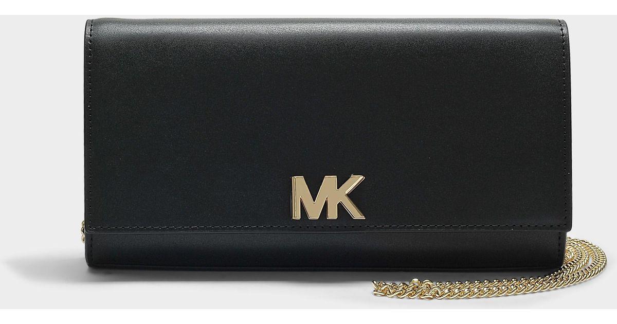 Mott Large East-West Clutch in Black King Leather Michael Michael Kors 2u2fySH