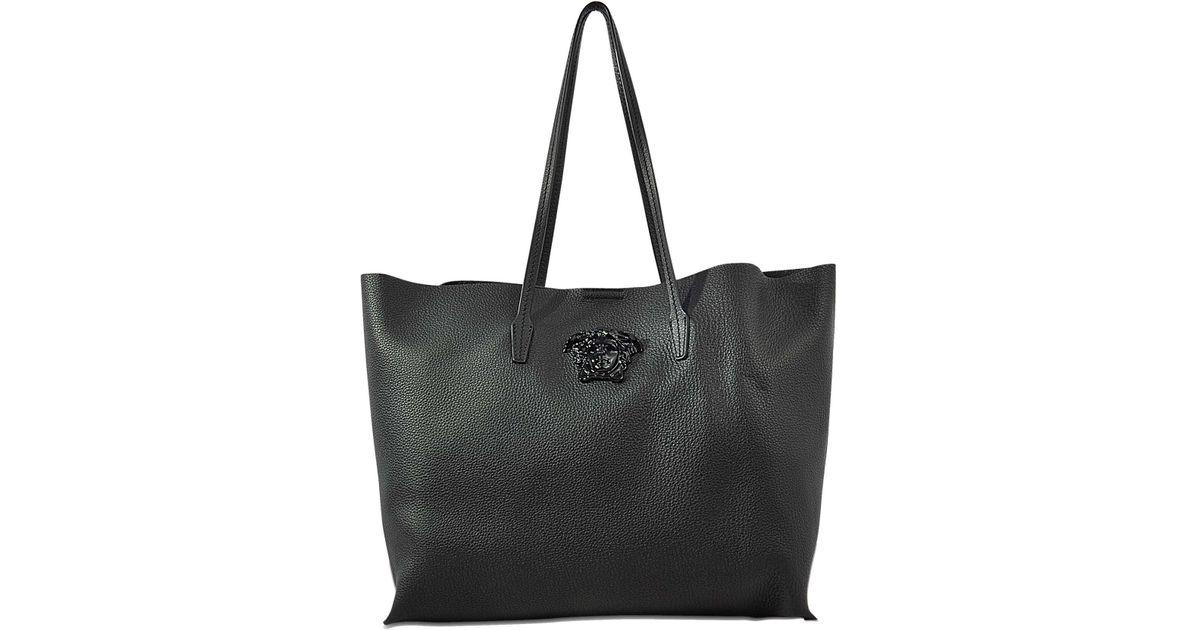 e4f4486d757 Lyst - Versace Vitello Tote Bag