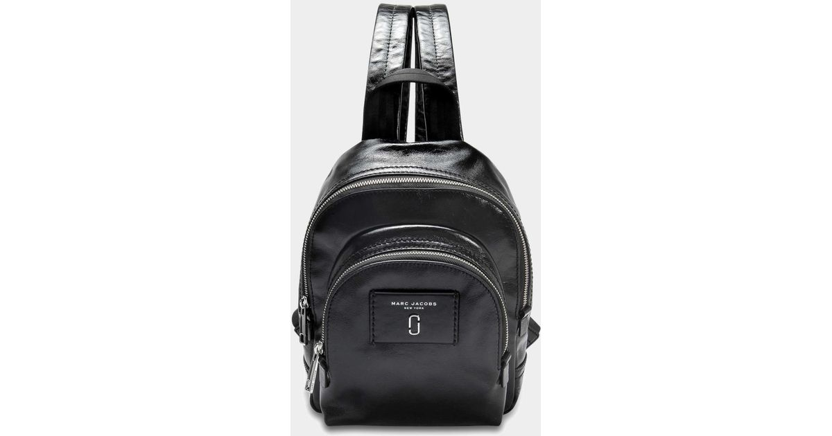 Marc Jacobs Sac à Dos Mini Double Pack Backpack en Cuir Bleu Jf5Su5NfS