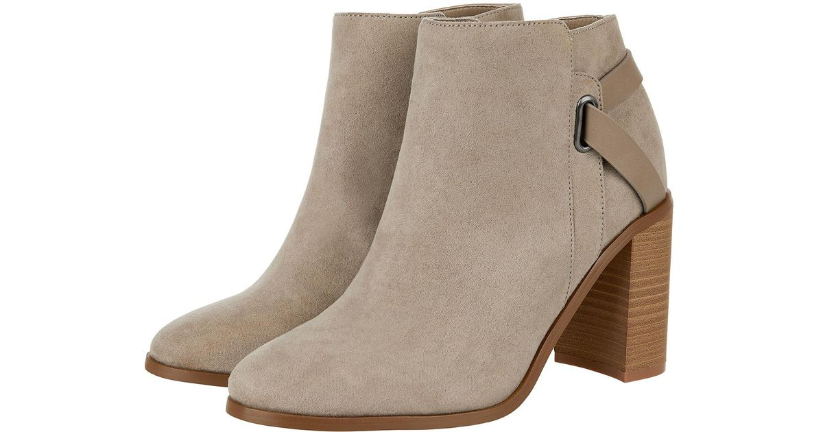 642efad193a9 Monsoon Sally Strap Boot in Gray - Lyst