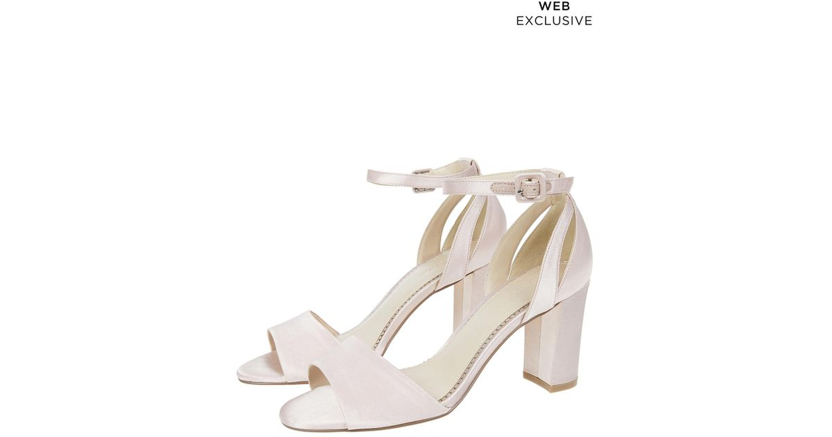 61951b52a Monsoon Blossom Bridesmaid Sandals in Pink - Lyst