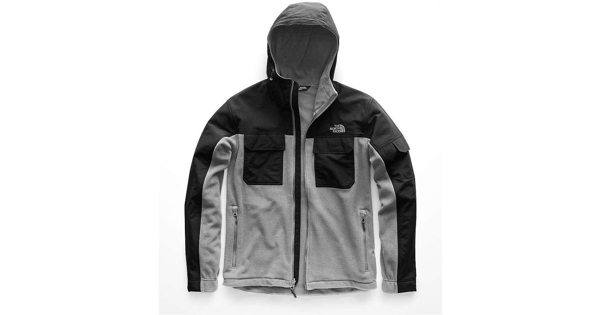 6a1ab3882 The North Face Gray Salinas Hooded Hybrid Jacket for men
