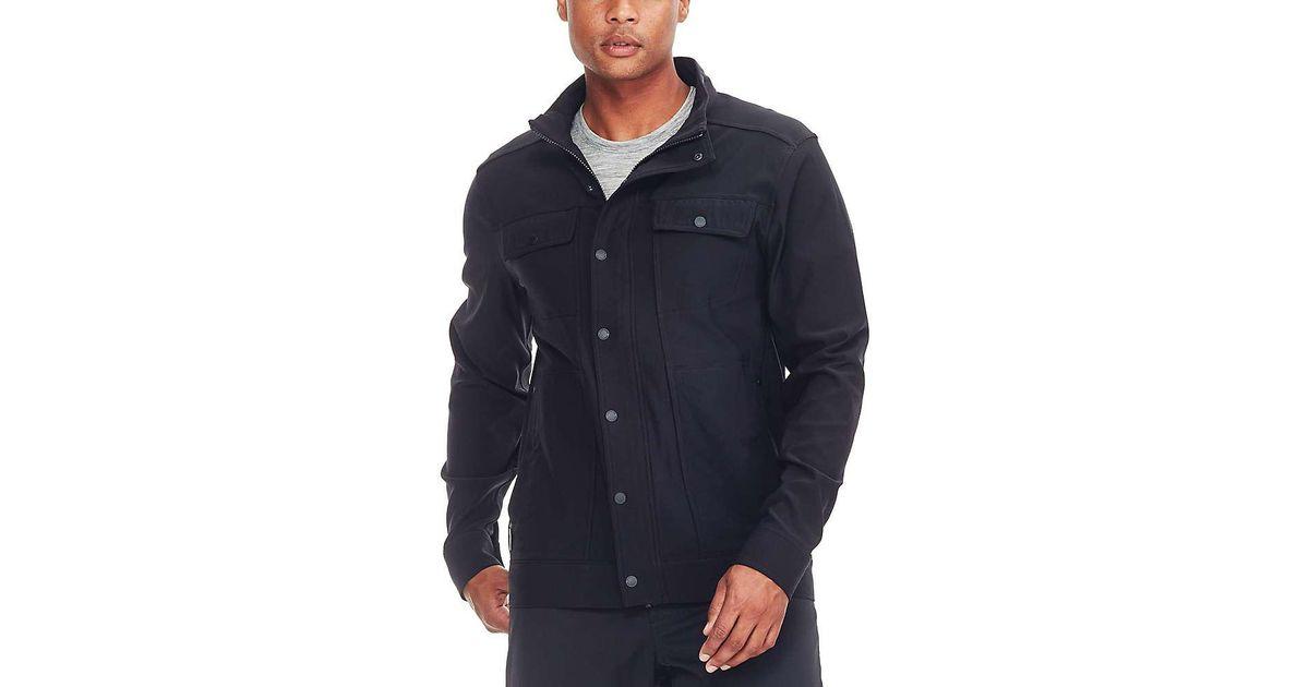 8bf330174 Icebreaker Black Utility Softshell Jacket for men