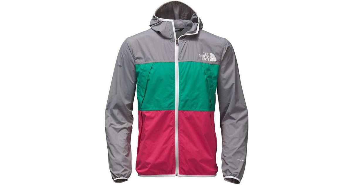 bbb044737 The North Face Green Telegraph Wind Jacket for men