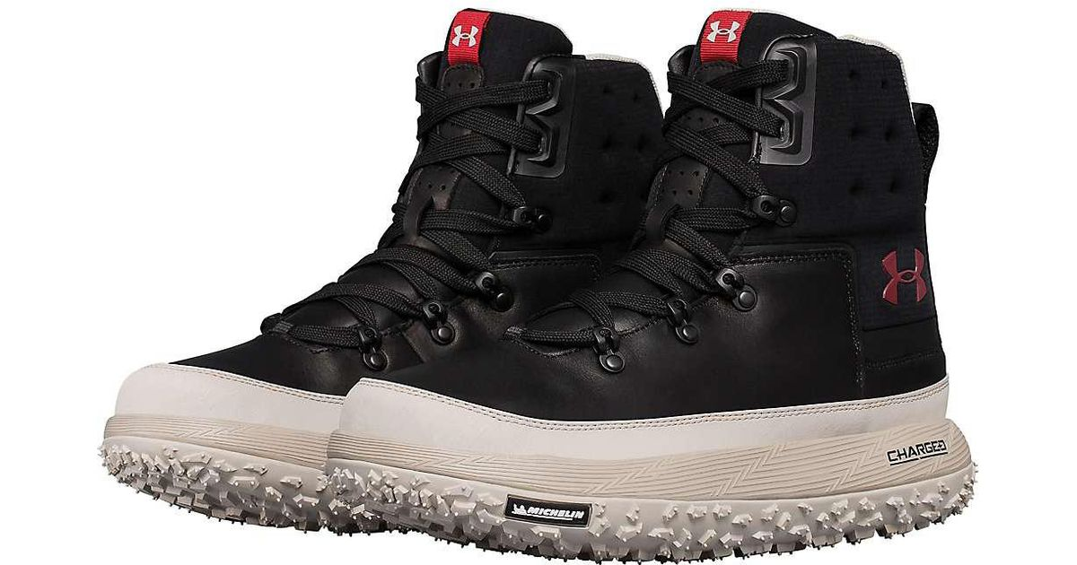 official photos 237d7 d29f7 Under Armour Black Ua Fat Tire Govie Boot for men
