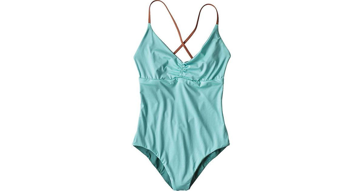 1cc9f6fb65 Patagonia Reversible One-piece Kupala Swimsuit in Blue - Lyst