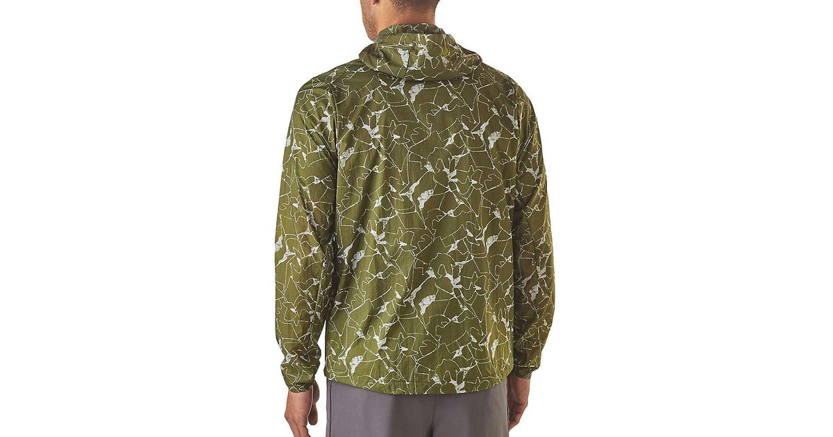 2b5fc7f7e Patagonia Green Houdini Jacket for men