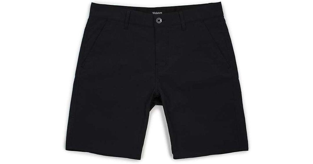 Lyst - Brixton Toil Ii All-terrain Short in Black for Men 1d1ce49c8dc