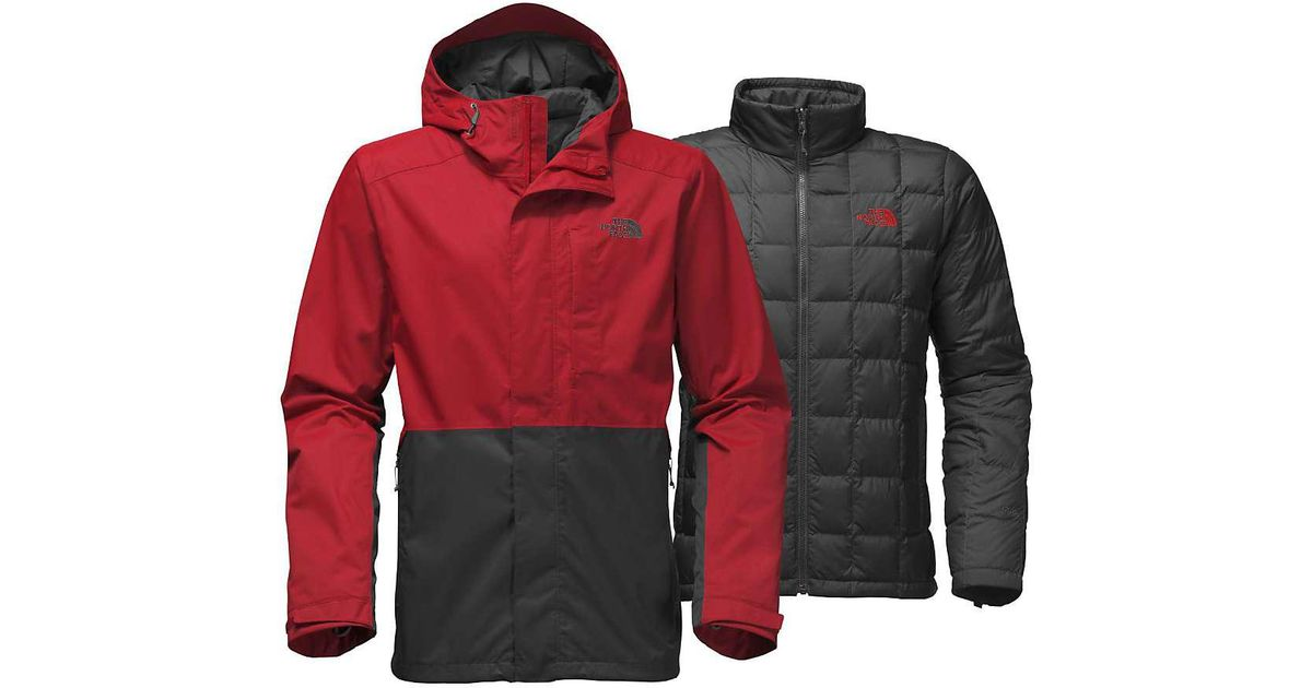 The Jacket North Red Altier Down For Triclimate Men Face 8wOkPX0n