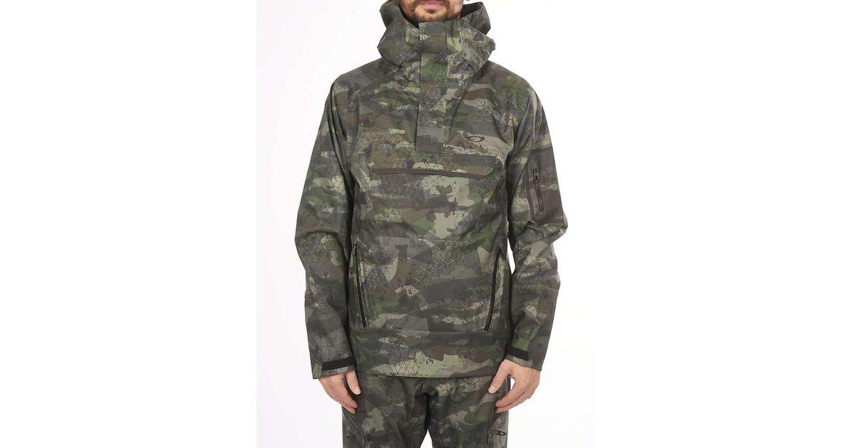 332943a428b Lyst - Oakley Snow Shell 10k 2l Anorak Jacket for Men