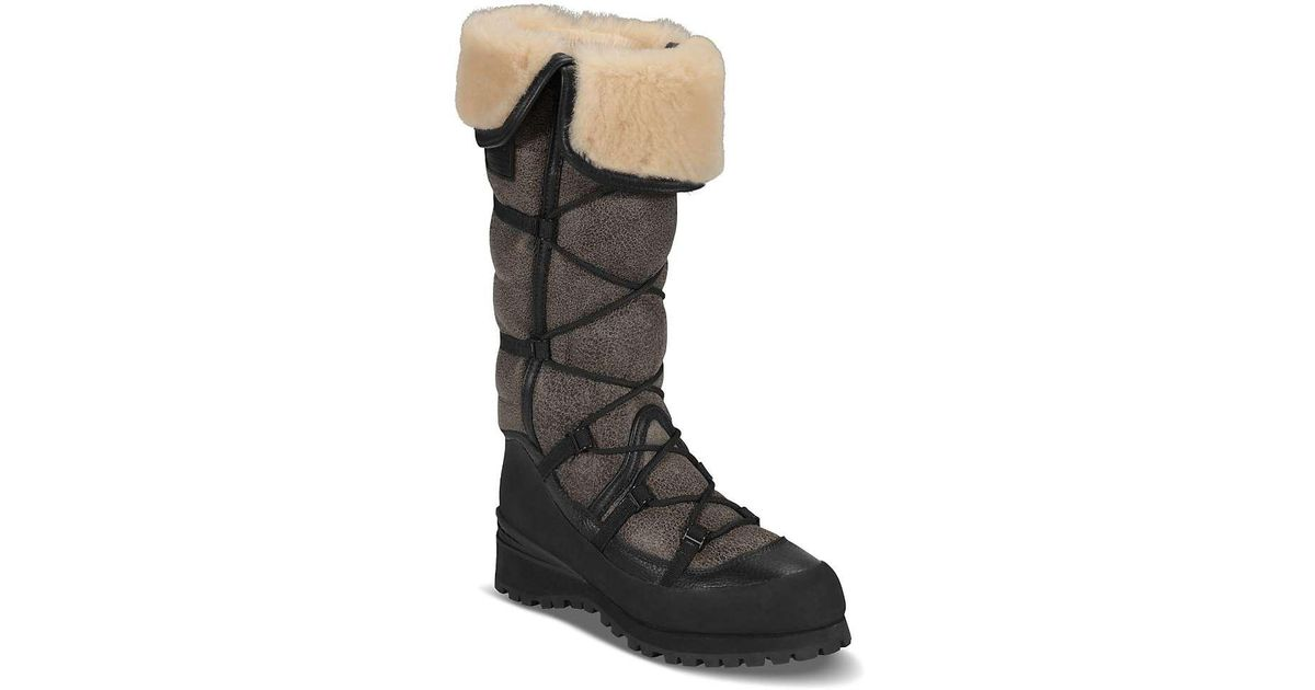 13426999f The North Face Black Cryos Tall Boot