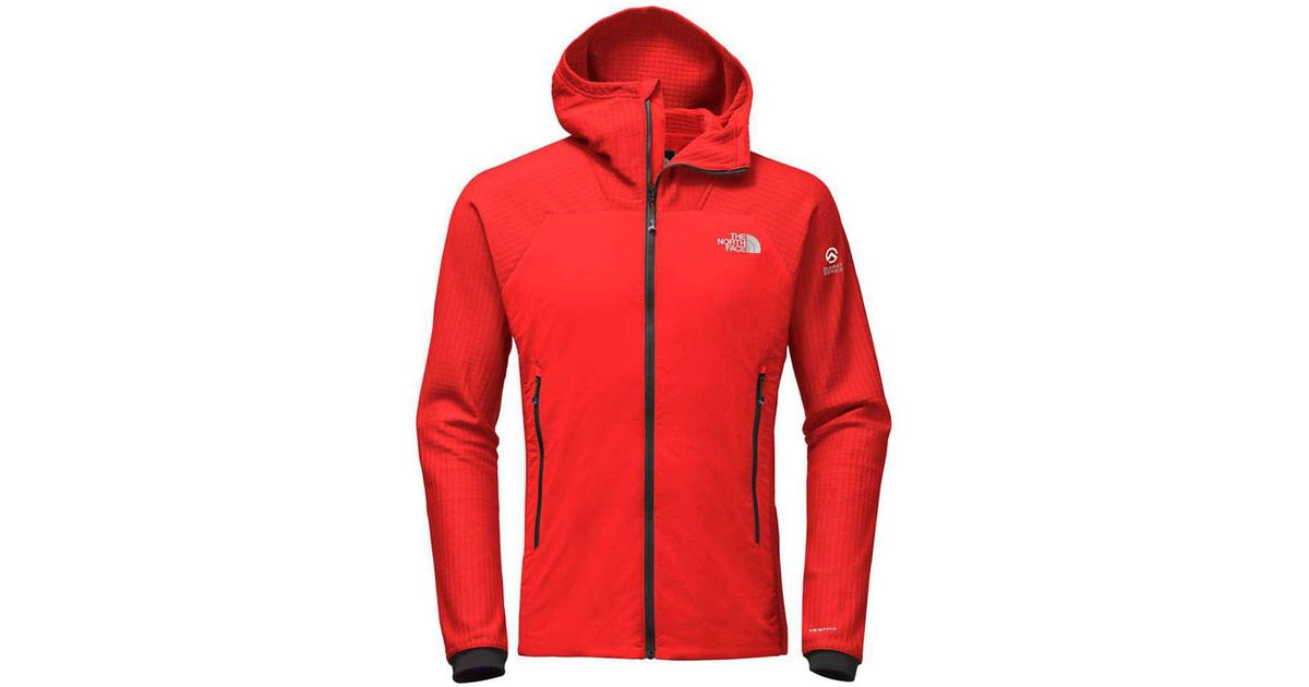 4fdce69e8 The North Face Red Summit L3 Ventrix Hooded Hybrid Jacket for men