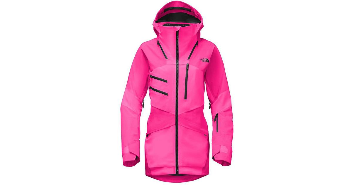 The North Face Steep Series Fuse Brigandine Jacket In Pink