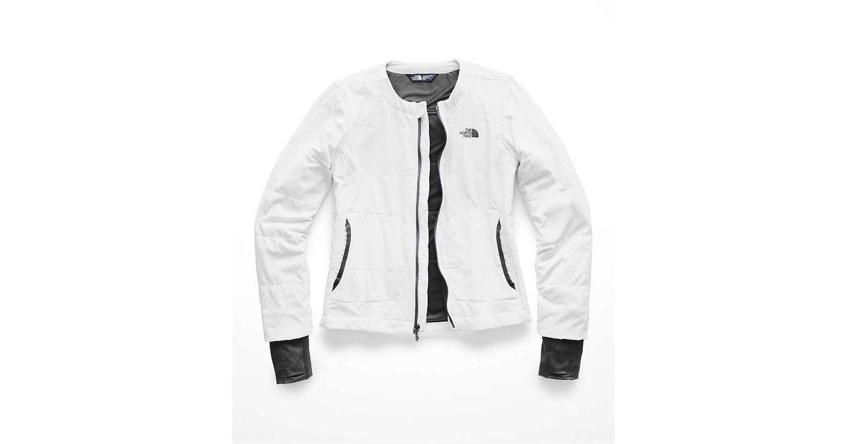 d8fdba57a The North Face Gray Mountain Sweatshirt Collarless Full Zip Jacket