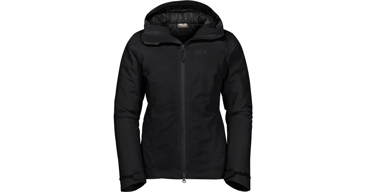 Los Angeles letzter Rabatt niedriger Preis Jack Wolfskin Black Argon Storm Jacket