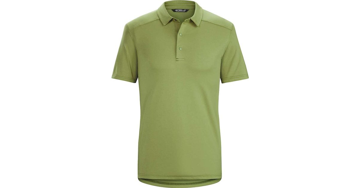 a82b6b6be9 Lyst - Arc'teryx Chilco Ss Polo in Green for Men