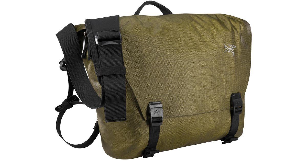 802cda6e9ce Arc'teryx Granville 10 Courier Bag in Green - Lyst