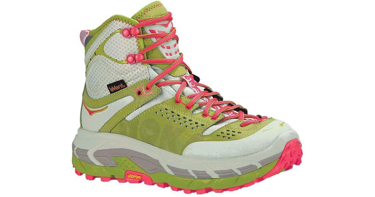 aac78d56426 Hoka One One Green Tor Ultra Hi Hiking Boots